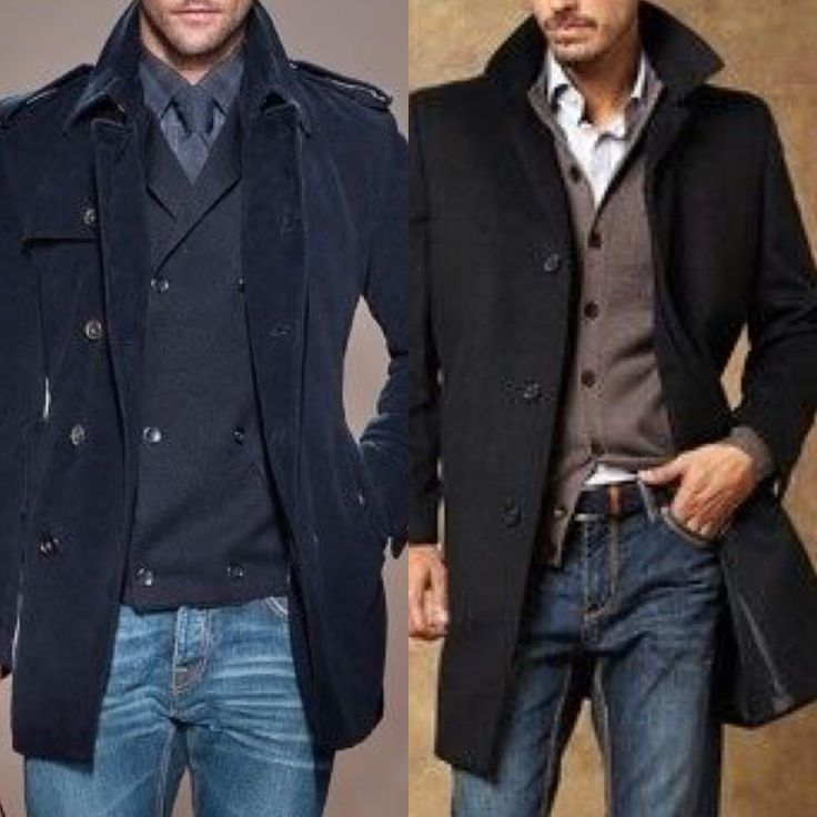 Top off the jeans with a great coat this season!