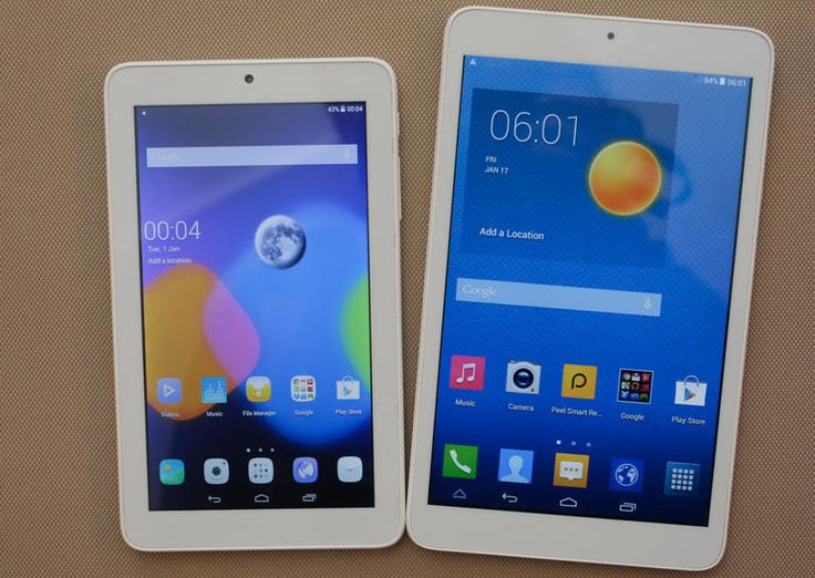 Alcatel's OneTouch Pixi 3 tablets  #mwc