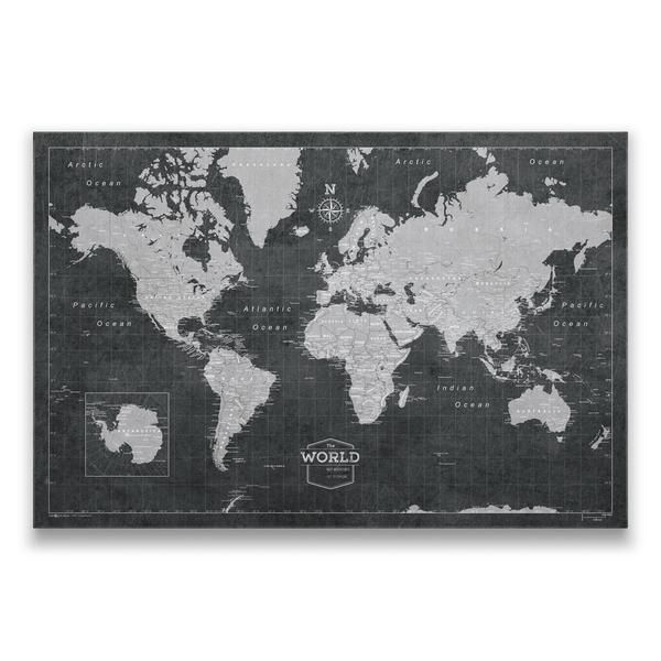 Keep track of your past adventures, future trips, or special places with significant history or memories! Display it proudly at home, or give the perfect gift!