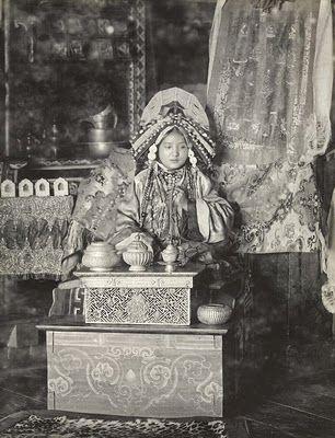 #Maharani of #Sikkim, 1900