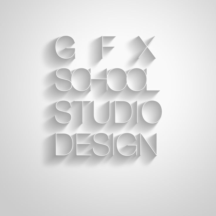"GFX SCHOOL & STUDIO OF DESIGN ONLINE. Graphic design project  ""GFX SCHOOL OF DESIGN ONLINE TYPOGRAPHY CONCEPT"" for 2014 student work compilation."