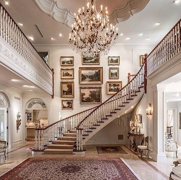 25 best ideas about grand staircase on pinterest luxury for Luxury staircases
