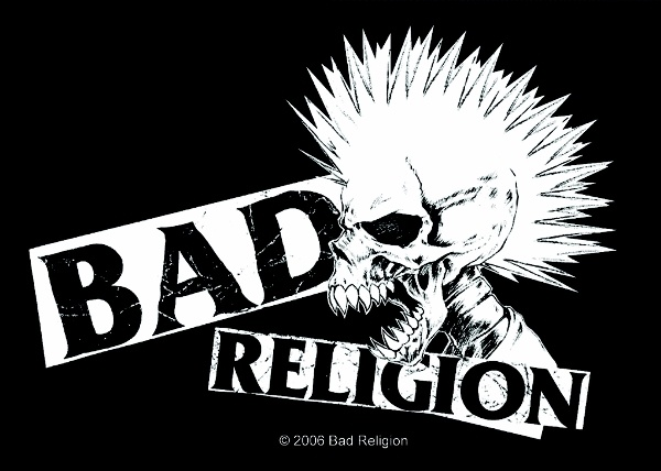 Bad Religion-- one of the most important punk bands of all time.