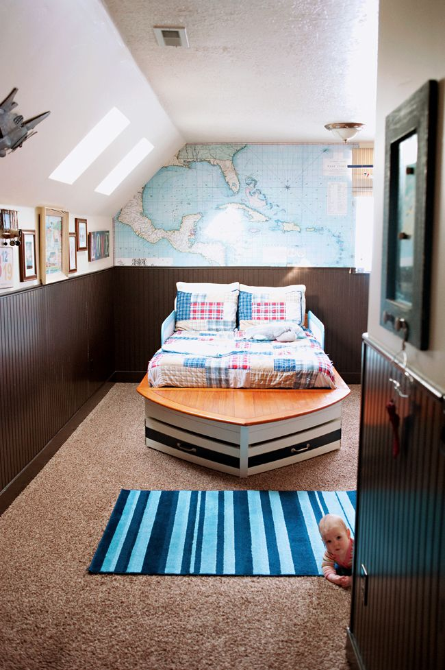 Bed For Nautical Themed Boy S Bedroom Nautical Theme Bedrooms Nautical