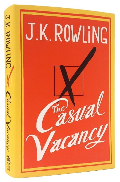 Book Recommendation: The Casual Vacancy by J.K. Rowling #reading #books | http://www.paperplatesblog.com/2012/10/22/book-recommendation-the-casual-vacancy-by-j-k-rowling/