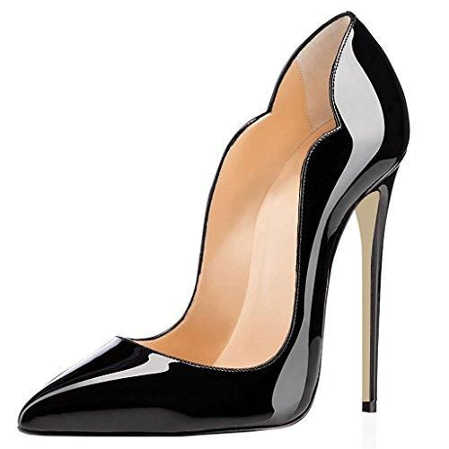 Oferta: 67.9€ Dto: -41%. Comprar Ofertas de uBeauty - Sexy de Tacones Altos - Clásicas Tacones Altos - Gran tamaño Zapatos Negro 36 EU barato. ¡Mira las ofertas!