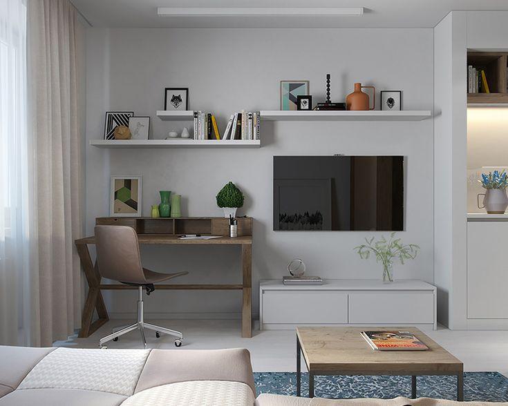 Интерьер недели: уютная квартира 29 м² в скандинавском стиле
