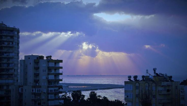 From My Balcony - Rays of hope