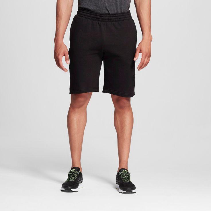 Men's Big & Tall Sizes Fleece Shorts - C9 Champion Black 3XL, Size: Xxxl