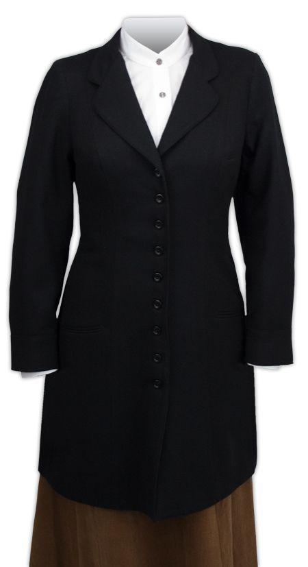 Wool Vintage Frock Coat