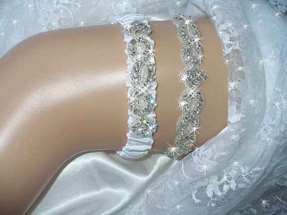 Keepsake Bridal Garter Belt Wedding Garter Set by bridalambrosia