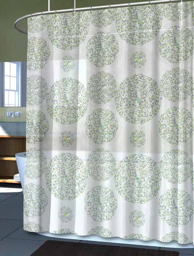 Mozaik Grey Bathroom Curtain Curtains Collection Pinterest