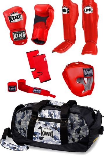 Top King soutěžní set #http://pinterest.com/savate1/boards/ Boxing set for warriors made by Top King Boxing