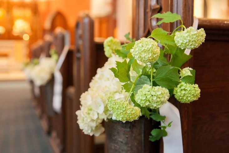 Wedding Pew Flowers In Church I Said Yes What 39 S Next I DO
