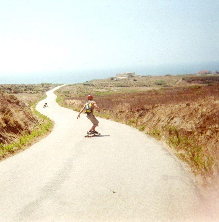 sea road skating, peniche, portugal