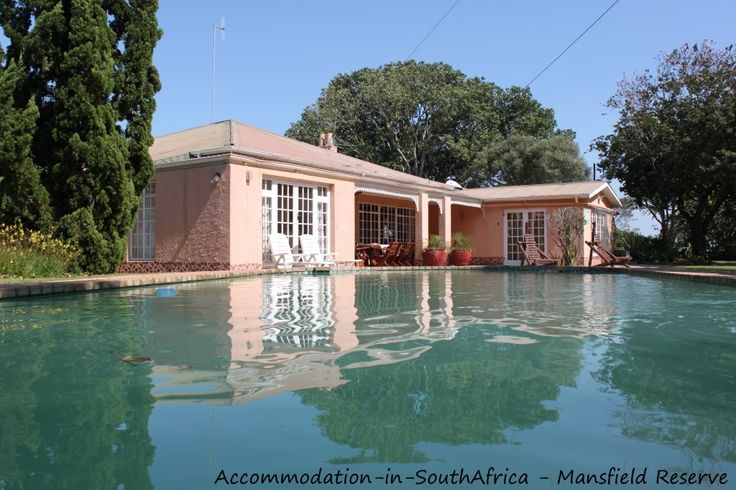 Pool at Mansfield Reserve. Mansfield Reserve. Port Alfred accommodation.