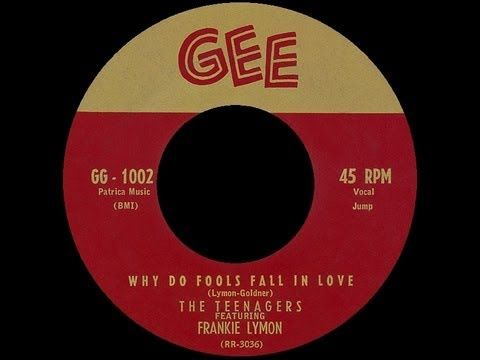 The Teenagers featuring Frankie Lymon - Why Do Fools Fall In Love   50s music   Doo Wop   Rock'n'Roll