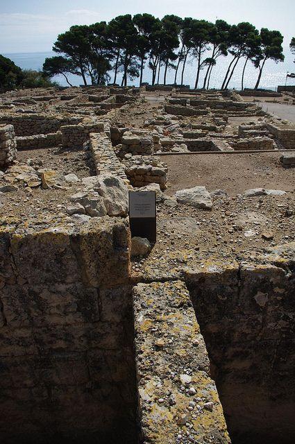 The Ruins of Empuries, Spain (Greek City) (L'Escala · Girona · Costa Brava · Catalunya)