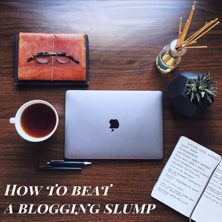 Every blogger hits a blogging slump at some point. Here's how to rediscover your inspiration and get your bloggy motivation back.
