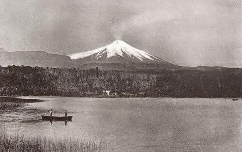 Chile, Volcán Calbuco en el año 1893