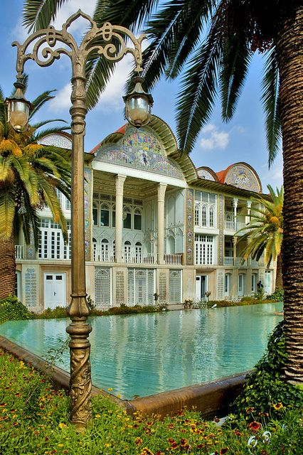 Eram Gardens in Shiraz, Iran (by Reza Sobhani).