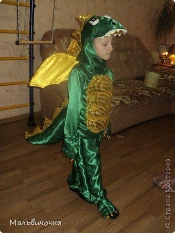 Костюм динозавра новый год