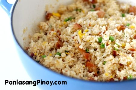 Bacon and Egg Fried Rice | Recipe
