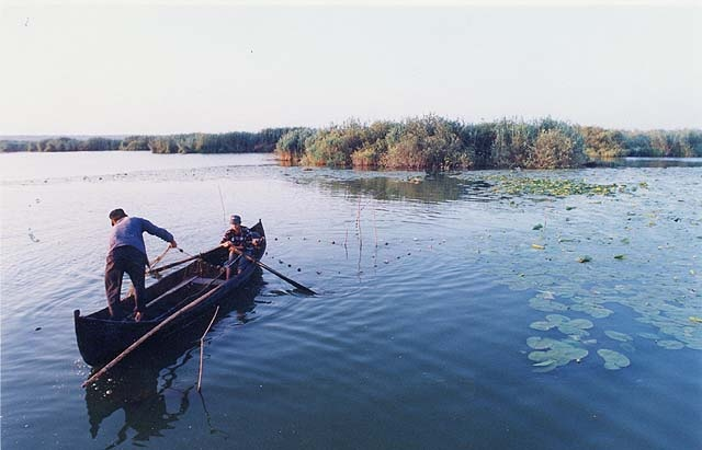 Fishermen on the Danube Delta