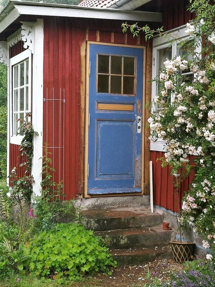 This is an old door i bought at Genbyg in Copenhagen.