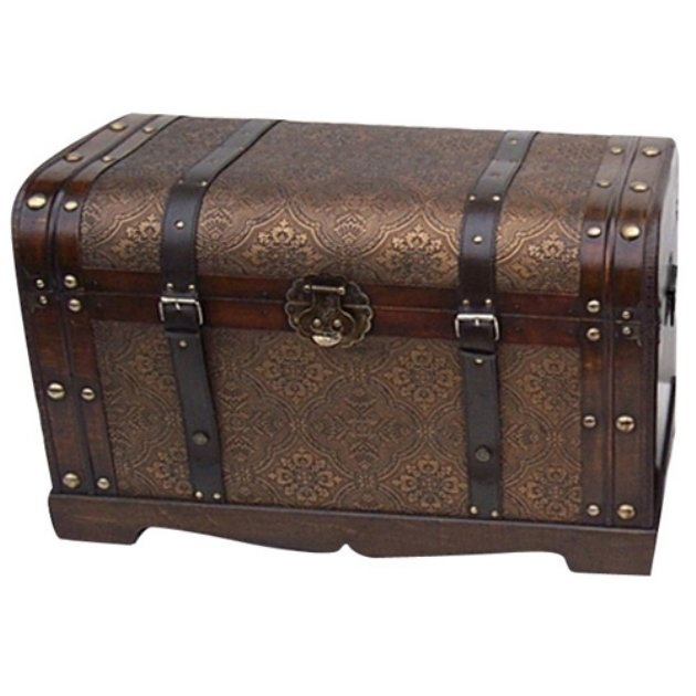 Old World Victorian Decorative Trunk - Coffee Tables at Hayneedle