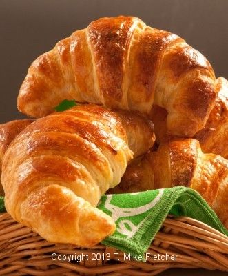 If you love Croissant these honest to goodness real French Croissants use an updated technique to reduce the traditional lengthy method of making them at http://pastrieslikeapro.com/2013/11/croissants-queen-of-breads/:
