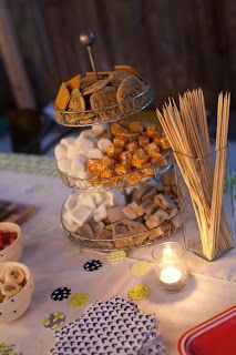 S'mores Party- We did this for my Bachelorette party last year! It was a huge hit. Need to do this again soon!