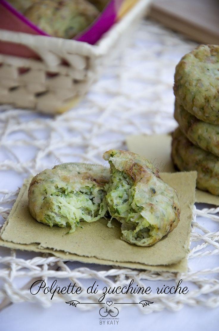 polpette di zucchine ricetta secondo  finger food