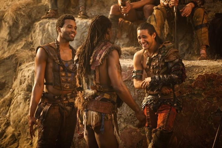 Pana Hema Taylor and Kelvin Taylor, Spartacus: Blood and Sand, 2010