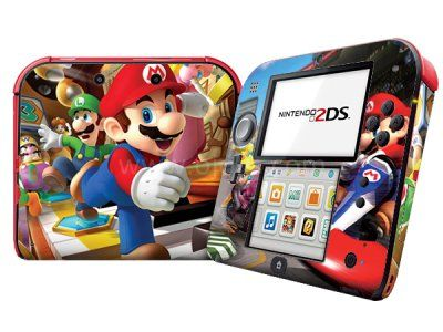 Skin 2DS - Mario