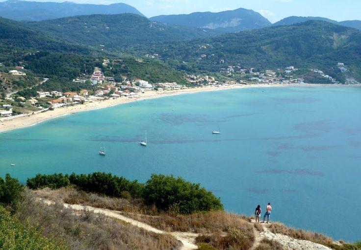 Agios Georgios im Nordwesten der Insel Korfu