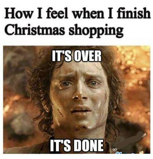 Image result for christmas shopping meme