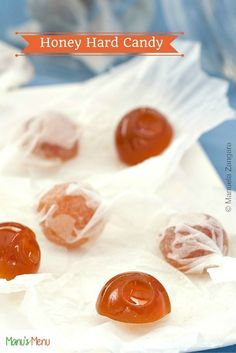 Honey Hard Candy - delicious and healthy home-made candy!