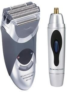 """(CLICK IMAGE TWICE FOR DETAILS AND PRICING) Remington MS-5100 _ Trimmer Combo Mens Shaver with Nose _ Ear Trimmer. """"Remington MS-5100 w_ Nose and Ear Trimmer Brand New Includes Two Year Warranty, The Remington MS-5100 titanium MicroScreen shaver has 3 super flexing screens and titanium coated blades. The Re.... See More Remington Shavers at http://www.ourgreatshop.com/Remington-Shavers-C381.aspx"""