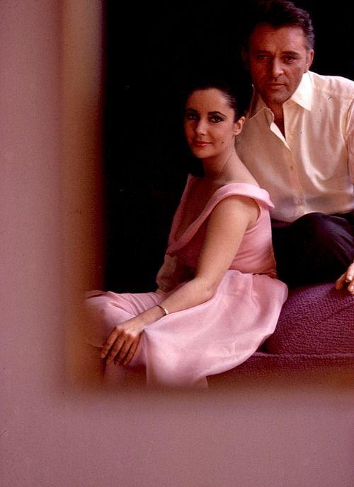 Elizabeth Taylor and Richard Burton The VIPs 1963