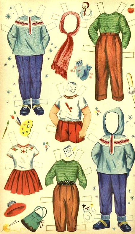 Jane and Jack Paper Dolls - Dell Publishing: Page 6 (of 6)