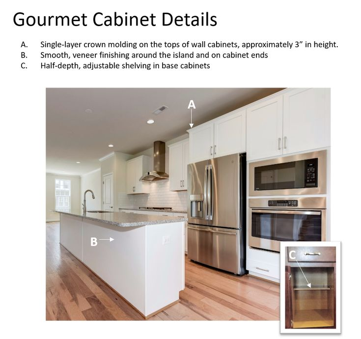 Dusk Colored Kitchen Cabinets: Gourmet Kitchen Cabinet Details