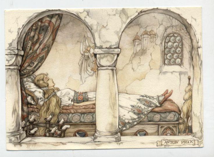 Anton Pieck postcard | eBay