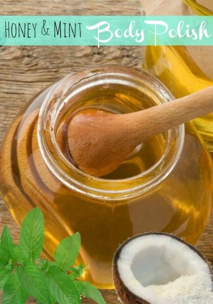 Simple honey & mint body polish- perfect for sensitivity, acne and dry skin. #spon