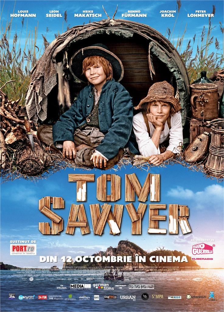 TOM SAWYER din 12 octombrie in cinematografe!