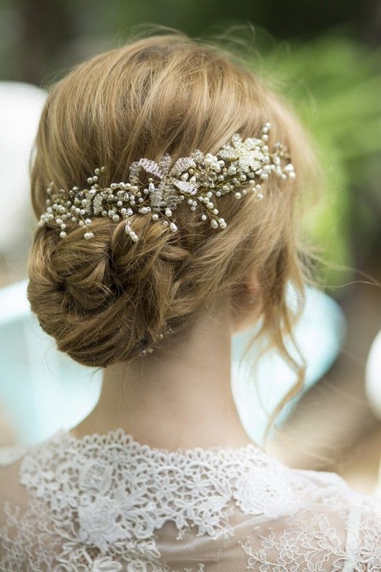Handmade Hairpieces by My Beaded Heart by Liron Cohen
