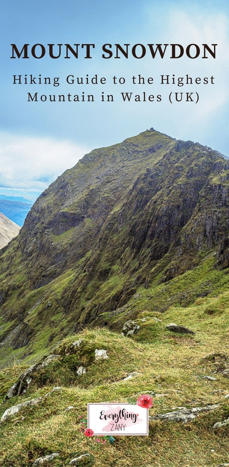 #snowdonia #snowdonianationalpark #hiking  #trekking | Mount Snowdon: Hiking Guide to the Highest Mountain in Wales (UK) | One of the most popular things to do in Snowdonia is to hike Mount Snowdon, the highest mountain in Wales. Sharing Snowdonia hiking routes and so much more!
