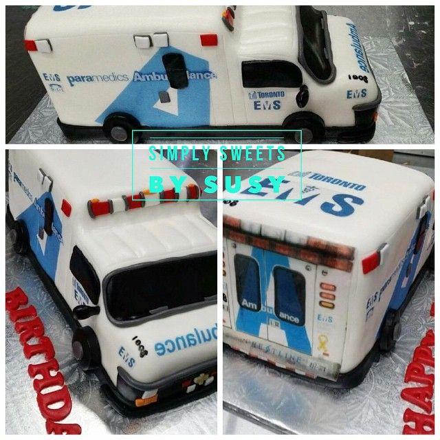 Not all heroes wear capes. Happy Birthday to a special Toronto EMS first responder! #everydayhero #simplysweets #birthdaycake #toronto #torontocakes #torontoems