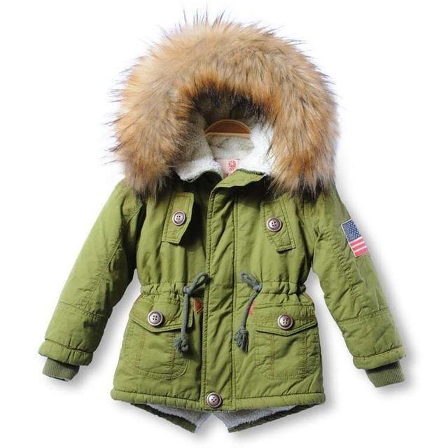 Faux Fur Thick Winter Jacket