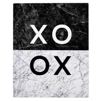 XO XO PLAQUE - minimal gifts style template diy unique personalize design